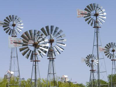 Windmills at American Wind Power Center and Musuem