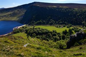 Lough Tay Below Luggala Mountain, County Wicklow National Park, Ireland