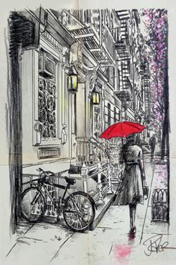 Afternoon Walk by Loui Jover