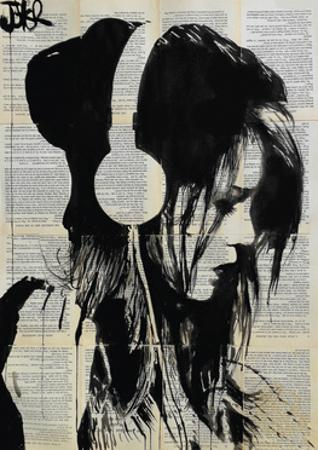 Melodies Solace by Loui Jover
