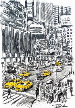 NY Sketch by Loui Jover