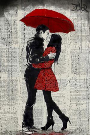 Rain Kisses by Loui Jover