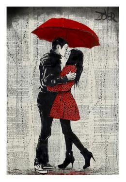 Rain Kisses by Loui Jover
