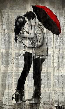 Rainfall and Kisses by Loui Jover