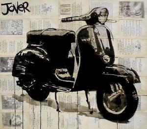 Scooter by Loui Jover