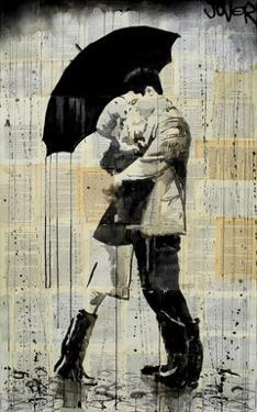 The Black Umbrella by Loui Jover