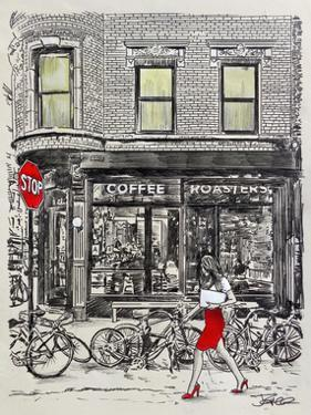 The Coffee Roasters Place by Loui Jover