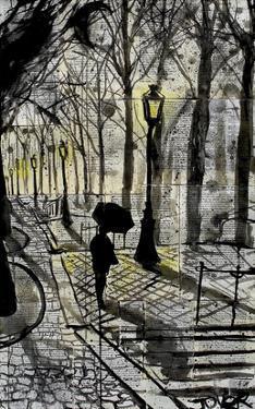 Walking in Montmartre by Loui Jover
