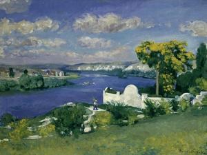 Paysage au Bord de la Riviere, 1893 by Louis Anquetin