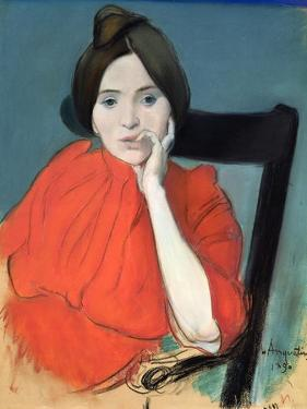 Portrait of a Woman, 1890 by Louis Anquetin