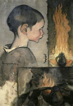 Profile of a Child by Louis Anquetin