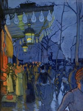 Street Scene, at Five in the Afternoon, 1887 by Louis Anquetin