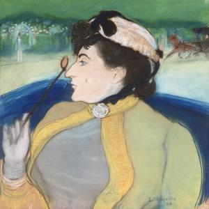 Woman in a Barouche, 1889 by Louis Anquetin