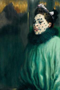 Woman with Veil (Femme À La Voilett) by Louis Anquetin