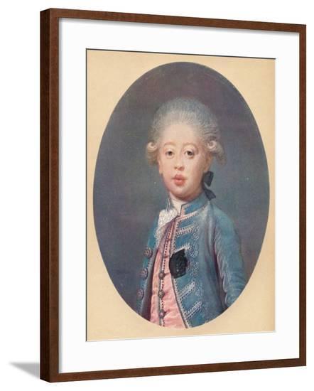 'Louis-Antoine d'Artois Duke of Angouleme', c1785-Joseph Boze-Framed Giclee Print