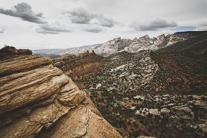 A Stunning Vista At Dinosaur National Monument, Utah by Louis Arevalo