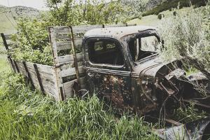Abandoned Truck Near The Eagles Rise Trail, Mantua Reservoir, Utah by Louis Arevalo