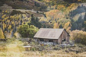 An Old Farm Building, Telluride, Colorado by Louis Arevalo
