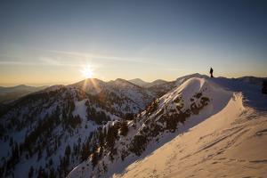 Chris Smith, Flagstaff Peak Dawn, Wasatch Mountains by Louis Arevalo