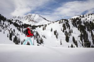 Josie White At Alta Ski Area March 2014 by Louis Arevalo