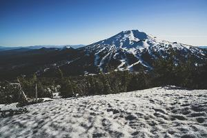 Mt Bachelor, Cascade Range, Oregon by Louis Arevalo