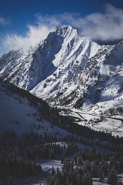 Mt Superior, Icon Of Central Wasatch Mts. Its Southface Is One Of 50 Classic Ski Descents N America by Louis Arevalo