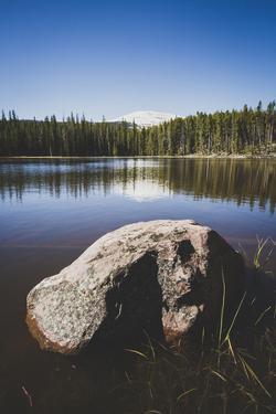 Teepee Lake, Uinta Mountains, Utah by Louis Arevalo