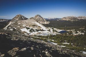 View From Lofty Peak, Lofty Lake Loop, Uinta Mountains, Utah. Scout Peak With Mt Baldy / Reids Peak by Louis Arevalo