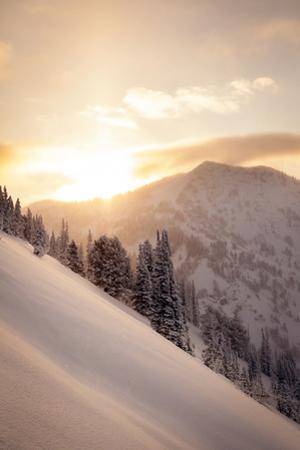 Winter Sunrise over Patsy Marley, Alta, Utah by Louis Arevalo