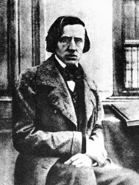 Frédéric Chopin, Polish Pianist and Composer, 1849 by Louis-Auguste Bisson