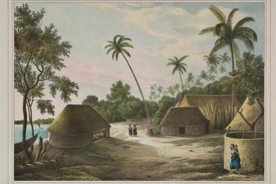 The House of the Tamaha, Moua, Tonga, 1830