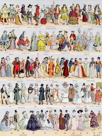 Clothing in France from the Seventeenth Century Up to 1925, Published by Larousse, 1929 by Louis Bombled