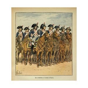 Napoleonic Wars, Cavalry of the Army of Italy by Louis Bombled