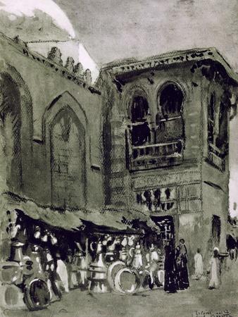 Copper Merchant, Cairo, Egypt, 1928