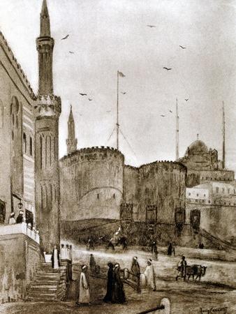 Entrance to the City, Cairo, Egypt, 1928