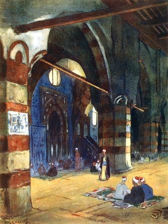 Ibrahim Agha Mosque, Cairo, Egypt, 1928