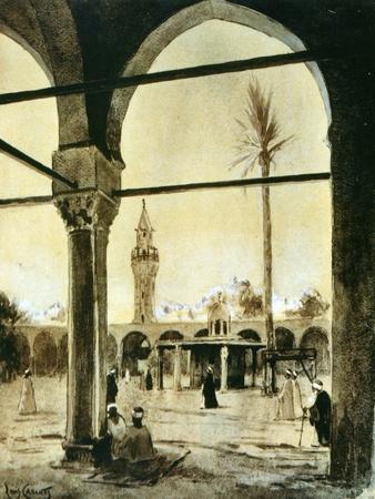 Mosque, Cairo, Egypt, 1928