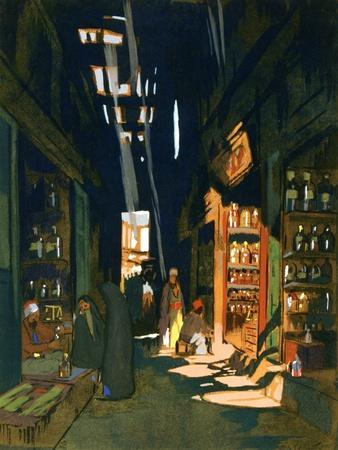 Perfume Merchant, 1928