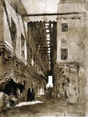 Souks, Cairo, 1928