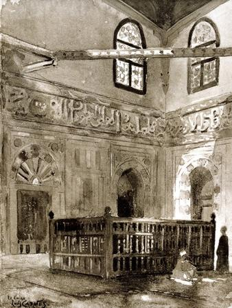 Tomb in a Mosque, Cairo, Egypt, 1928