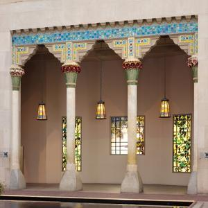 Architectural Elements from Laurelton Hall, Oyster Bay, New York, c.1905 by Louis Comfort Tiffany