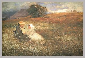 At Irvington-On-Hudson by Louis Comfort Tiffany