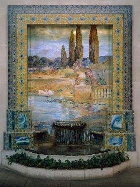 Garden Landscape, c.1905–15 by Louis Comfort Tiffany