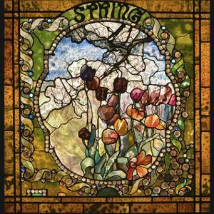 Spring panel from the Four Seasons by Louis Comfort Tiffany