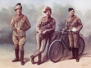 From Left, a Trooper of the South African Light Horse by Louis Creswicke