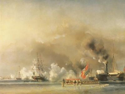 King Louis-Philippe Escorting Queen Victoria Aboard the Royal Yacht Victoria and Albert at Treport