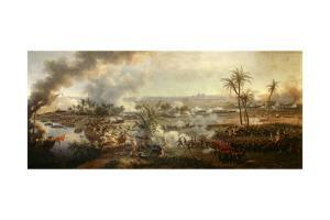 Battle of the Pyramids, July 21, 1798, Napoleon Egyptian Campaign, 1806 by Louis Francois Lejeune
