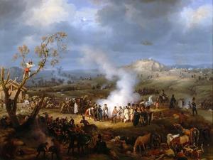 Napoleon's Bivouac on the Eve of Austerlitz, 1 December 1805 by Louis-François Lejeune