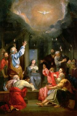 The Pentecost by Louis Galloche