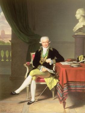 A Portrait of Johan Claes Lagersvard (1756-1863), 1799 by Louis Gauffier
